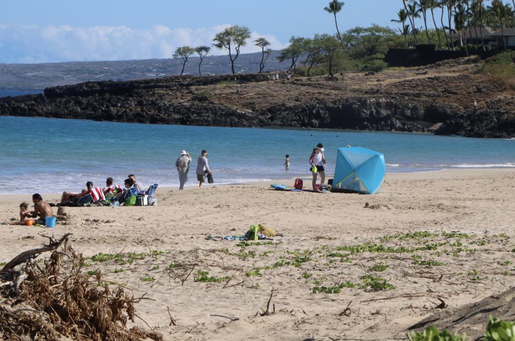 Hāpuna Beach on the Big Island of Hawaiʻi ranked the best beach of 2021 by Dr. Beach (Hāpuna Beach on the Big Island of Hawaiʻi ranked the best beach of 2021 by Dr. Beach (Photo Courtesy of DLNR).