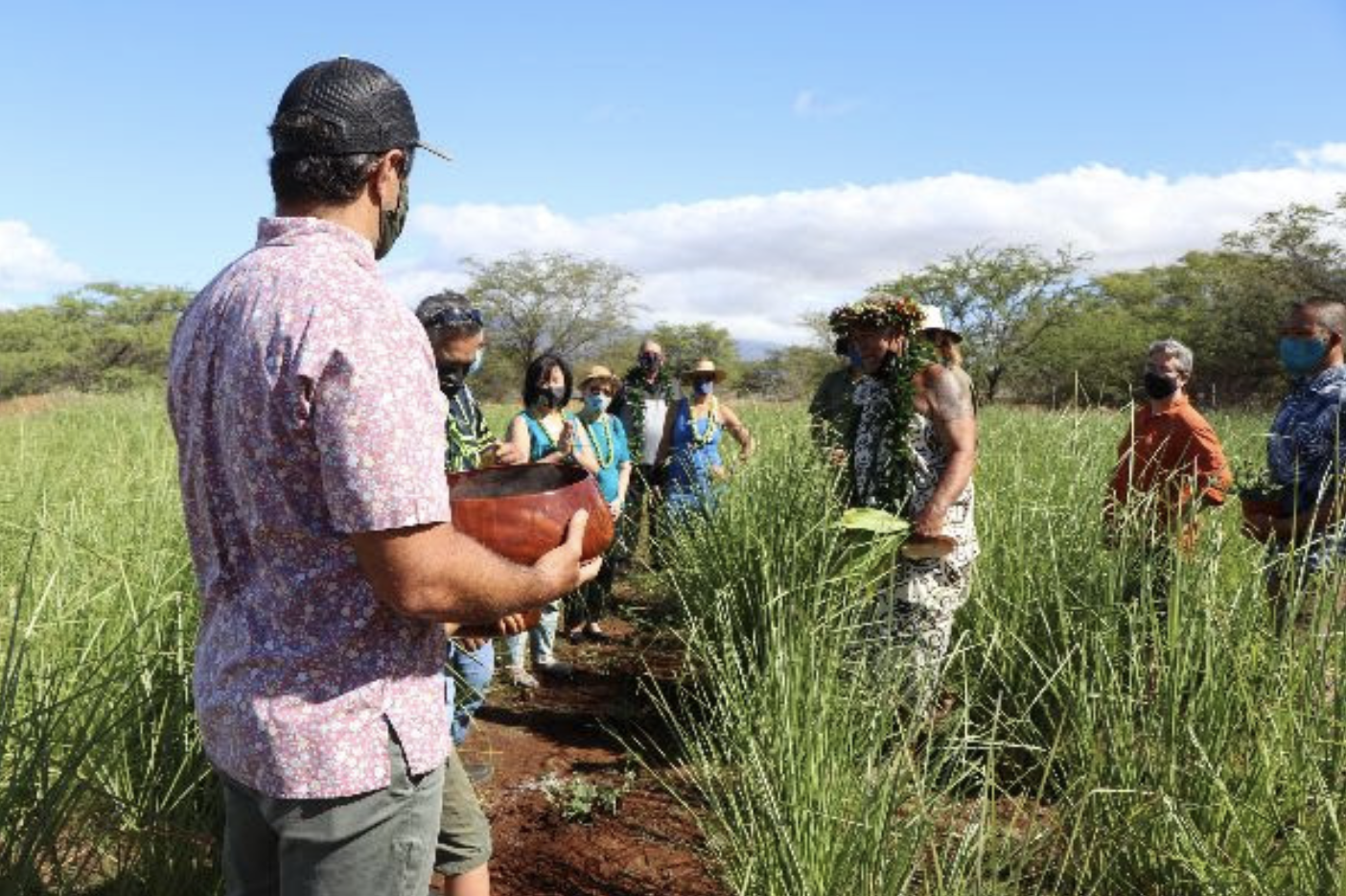Groundbreaking and Blessing Held for New Wastewater Pilot Project in Kīhei