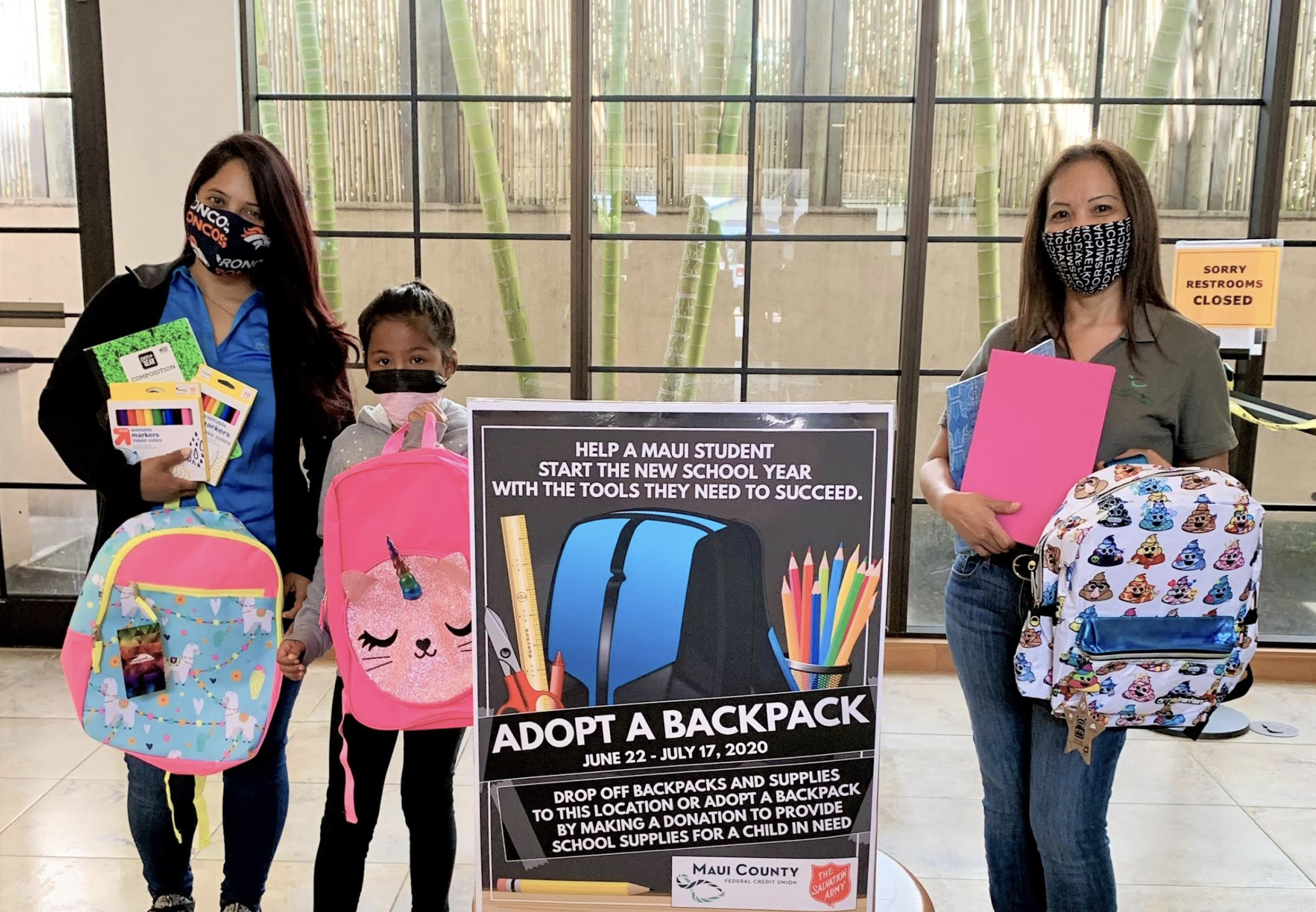 School Supplies Drive for Maui Kids in Need, Through July 16