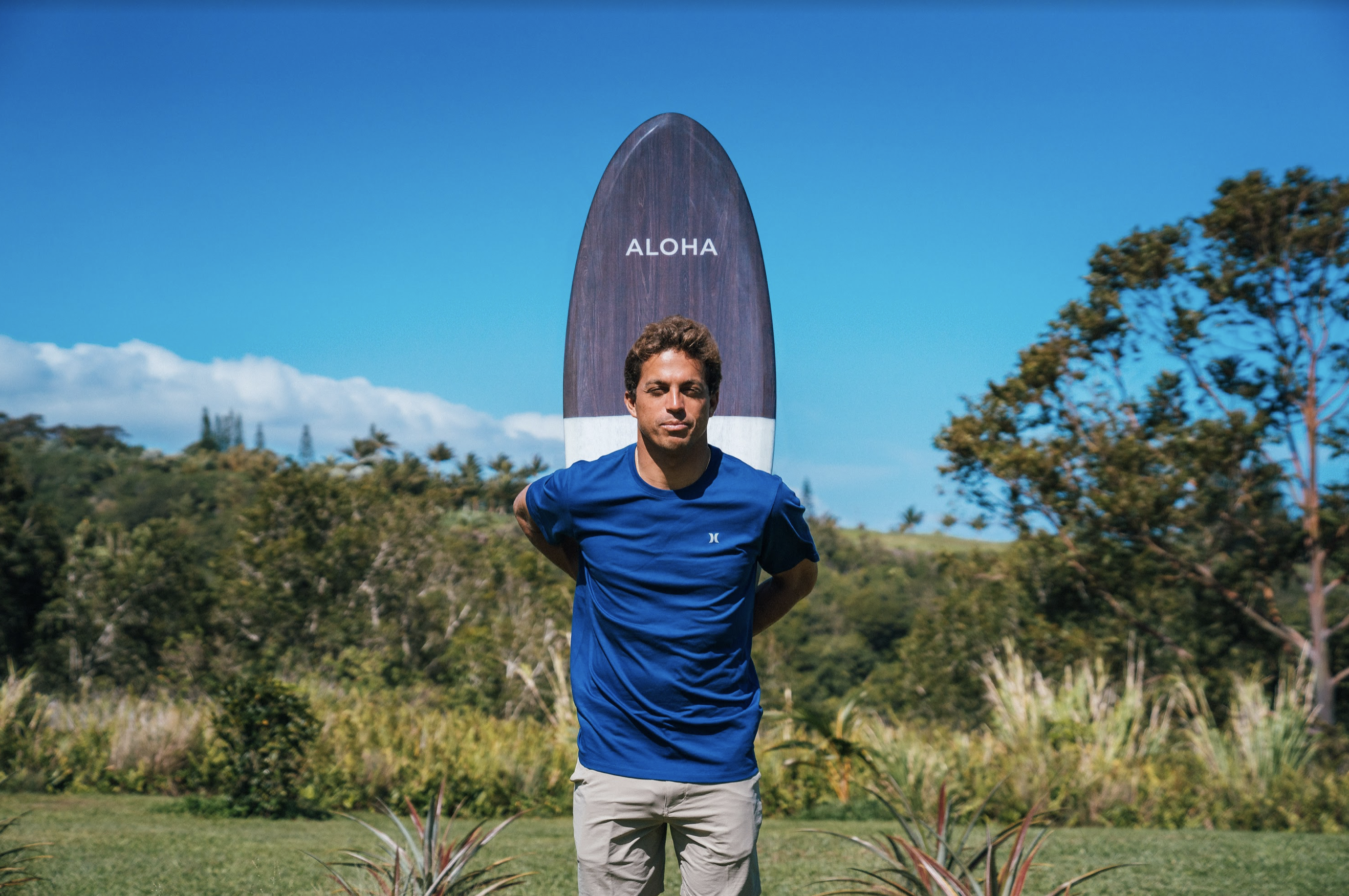 Waterman Kai Lenny Collaborates to Launch SALTY Surfboard Coffee Table Collection