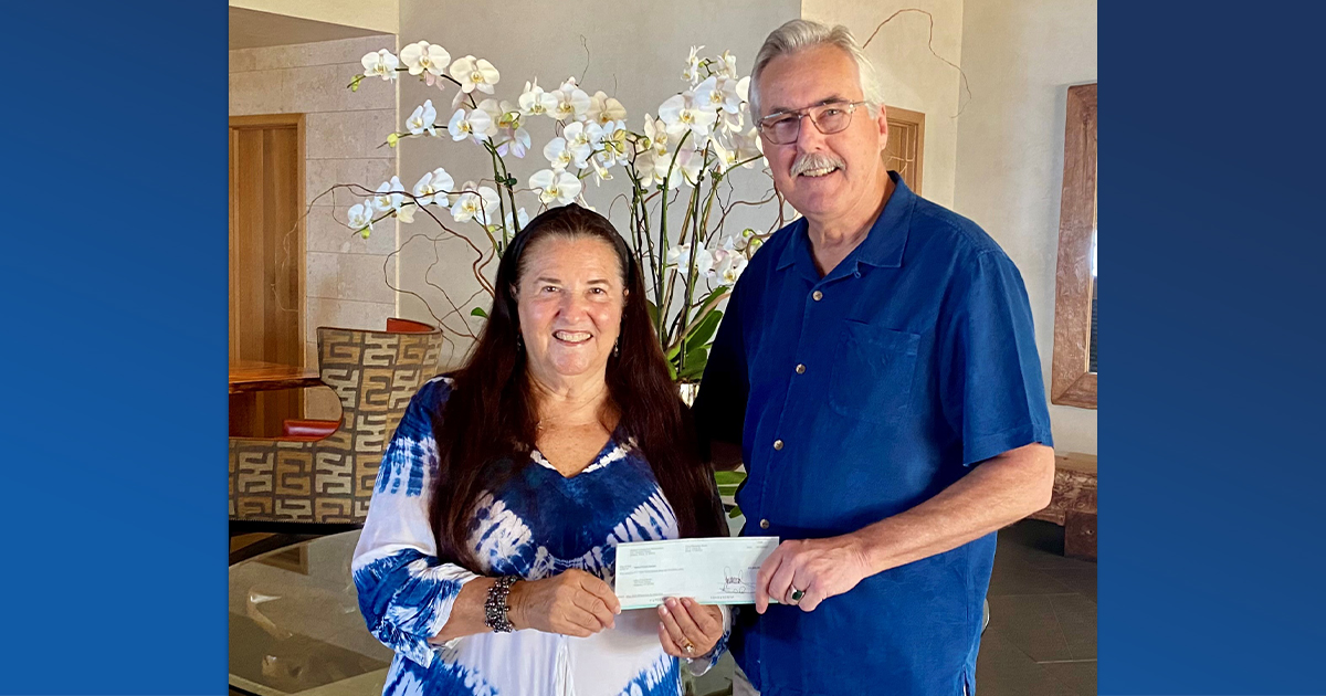 Maui Food Bank Receives $10,000 Donation from #WaileaDineOut