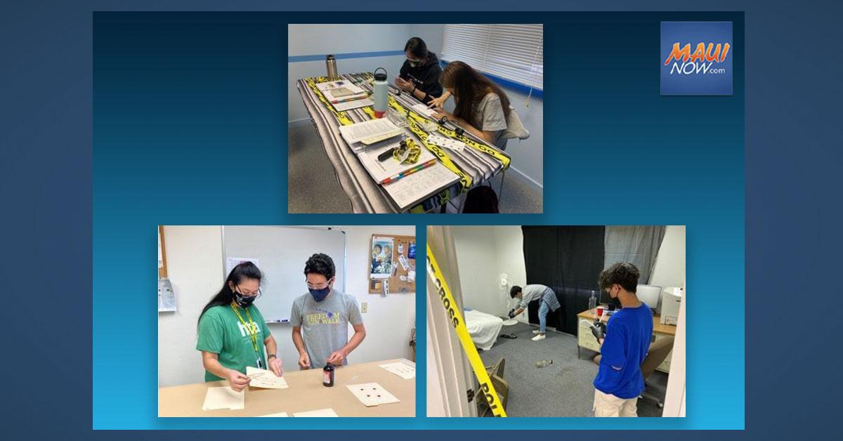 10 Students Complete Maui 2021 CSI Camp