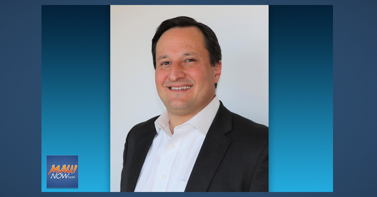 Maui Health Announces New Chief Operating Officer, Wade Ebersole