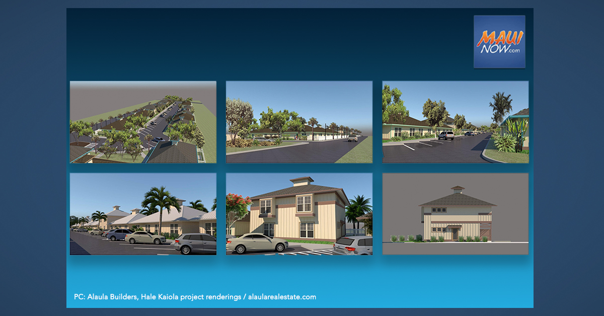 Lottery Applications Being Taken for Buying Home in New Maui Workforce Complex