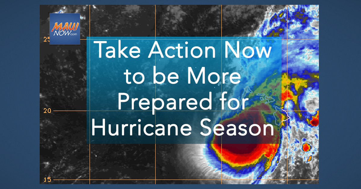 Take Action Now to be More Prepared for Hurricane Season