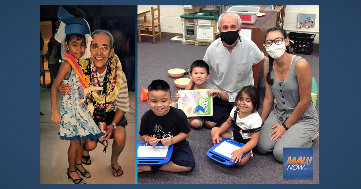 Former Student-Turned-Teacher Reunites with Mentor at Maui Head Start Site