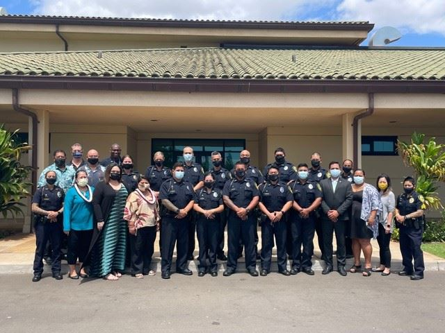 19 Graduate with 10th Cohort of Maui Police Department's Crisis Intervention Team