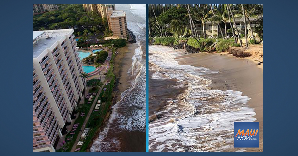 New PacIOOS Online Tool Predicts High Wave Flooding in West Maui