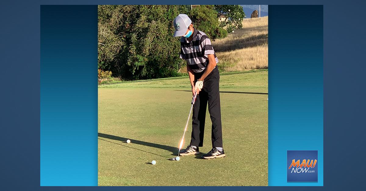 Maui Teen Advances to IMG Junior World Golf Championship in San Diego