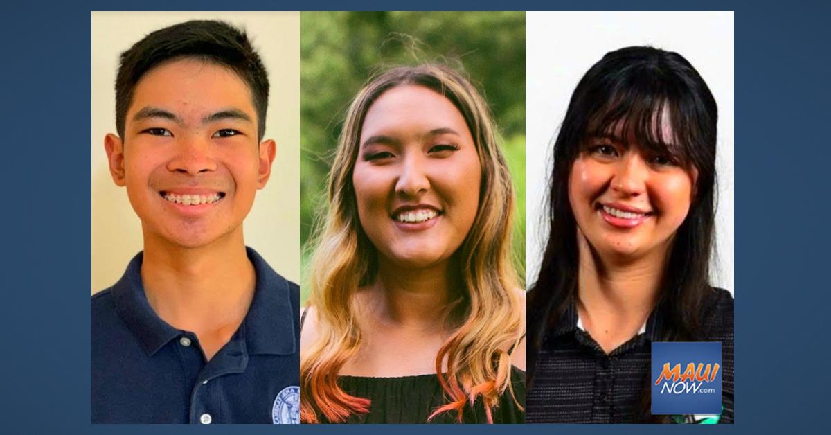 Three Maui Student Golfers Awarded 1st Ann Seki Academic Scholarship