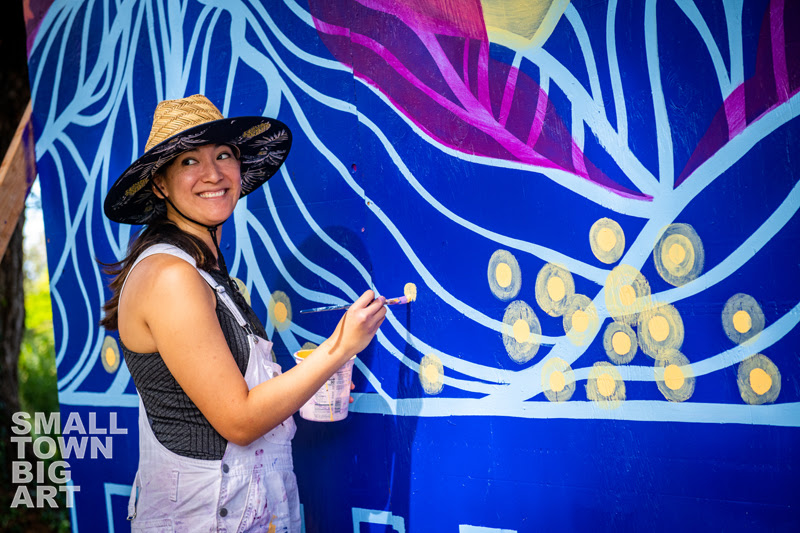 SMALL TOWN * BIG ART To Unveil Two 100-Foot Murals, June 25