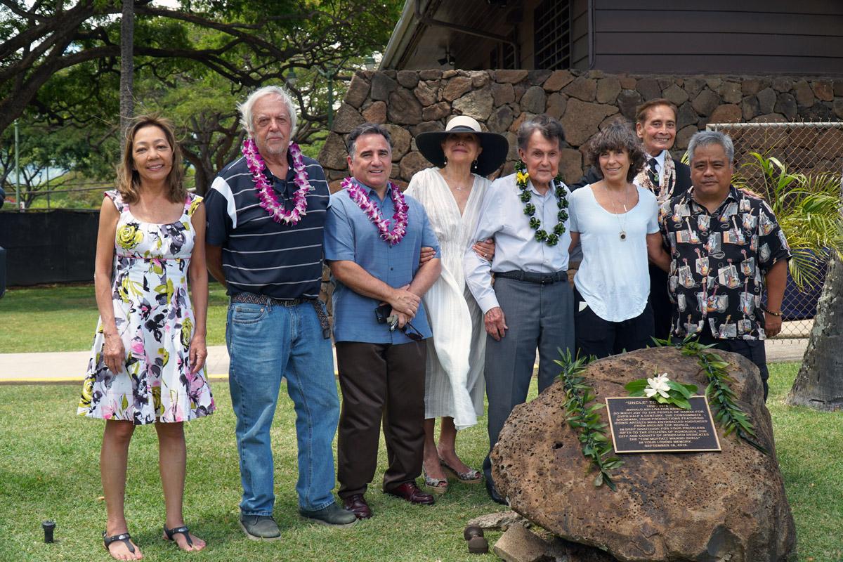 Plaque Honoring Promoter Tom Moffatt Installed at Waikīkī Shell