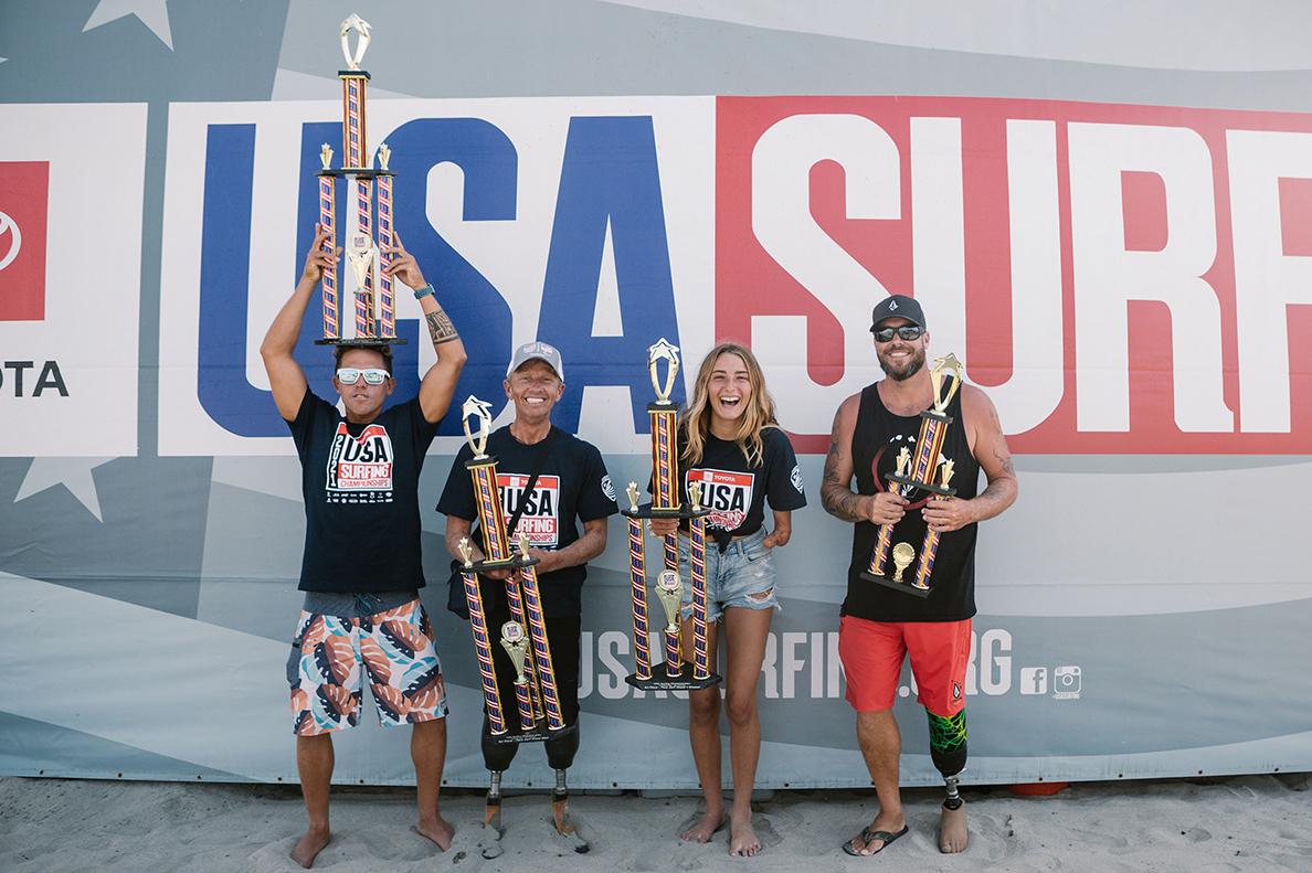 Maui Adaptive Surfers Win Big at 2021 Para Surfing Championships