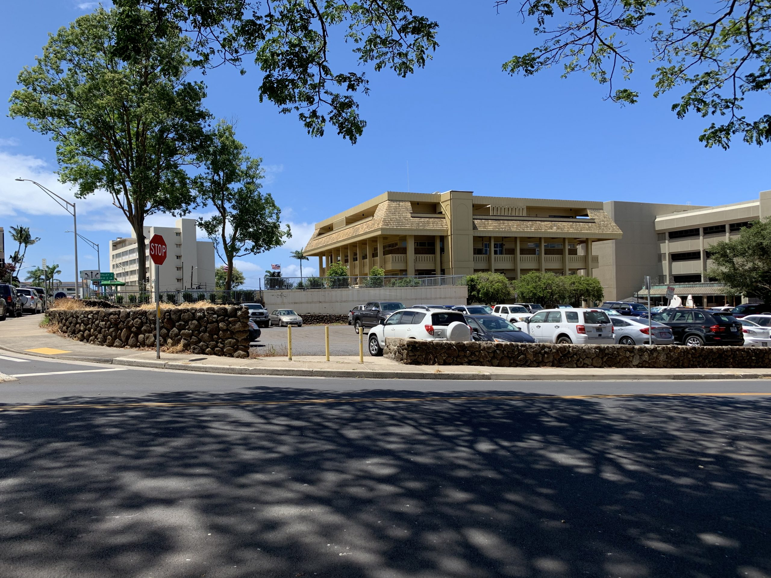 Multi-Level State Office Building Proposed for Construction on Grounds of Old Wailuku Post Office Site