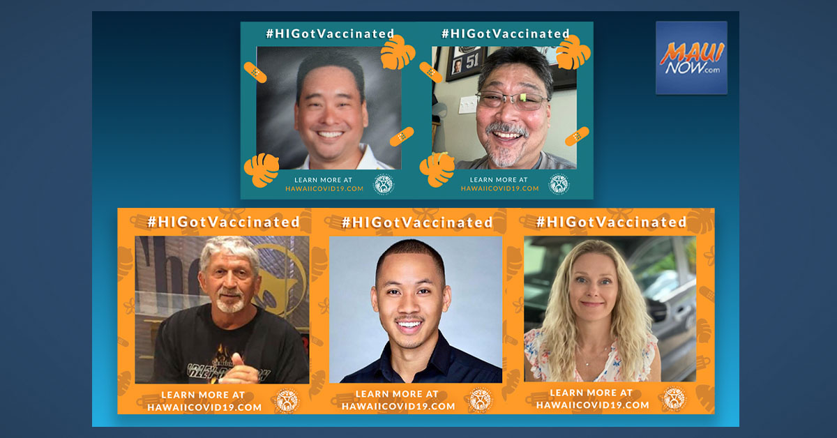 #HIGotVaccinated Week Two Winners Include One Maui and Four O'ahu Residents
