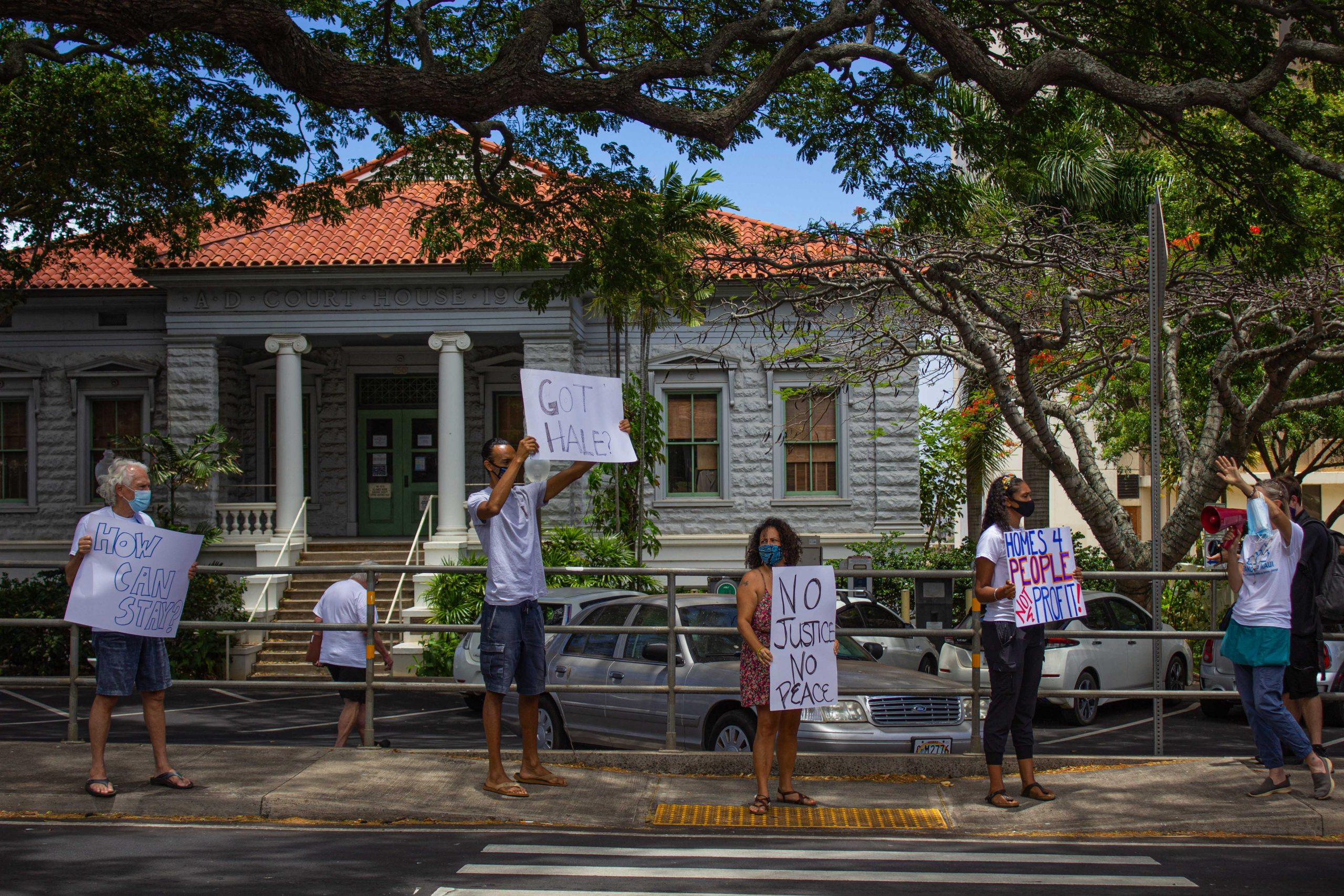 """Rally Touts Affordable Housing Plan Amid """"Housing Crisis"""""""