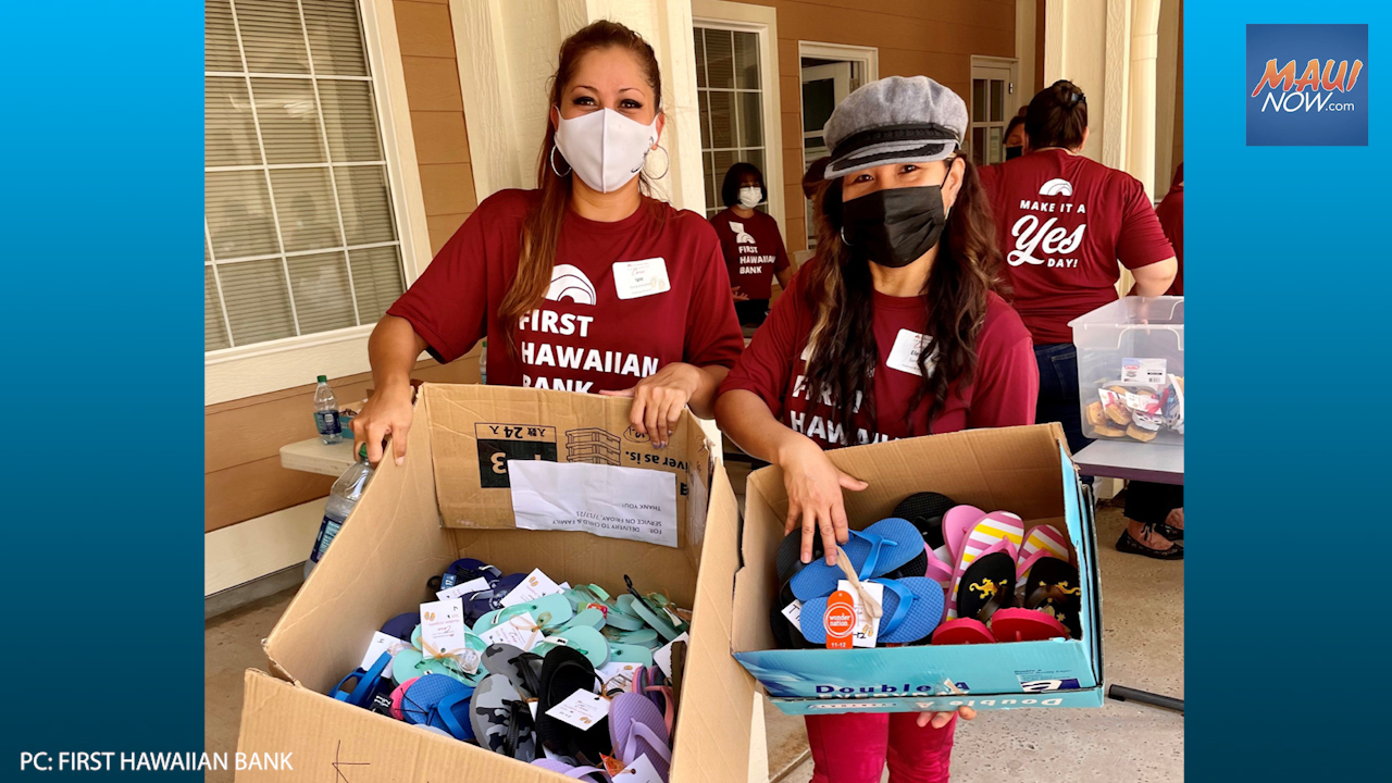First Hawaiian Bank Launches Statewide Slippah Drive for Child & Family Service