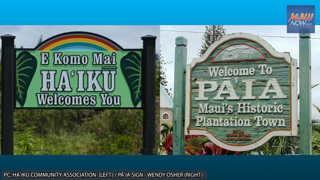 Applications Sought for New South Maui and Pāʻia-Haʻikū Advisory Committees