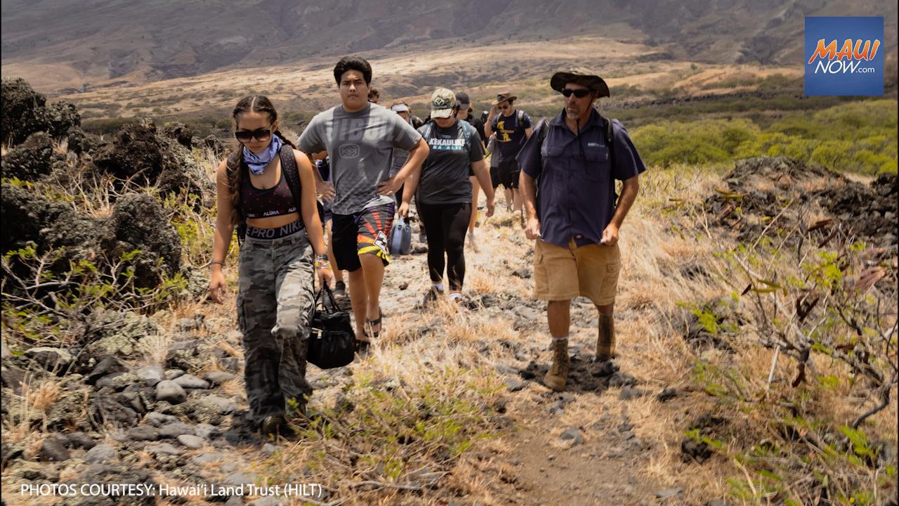 Hawai'i Land Trust and UH Maui College Partner on New Stewardship Program