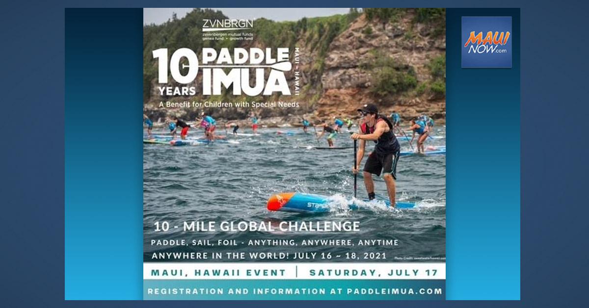 Paddle Imua Celebrates 10 Years, July 16-18
