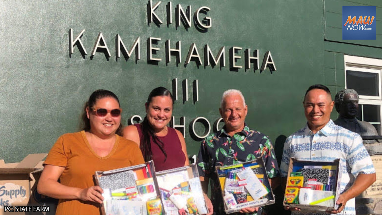"""200 """"Back-2-School"""" Supply Kits Donated by Local State Farm Agent"""