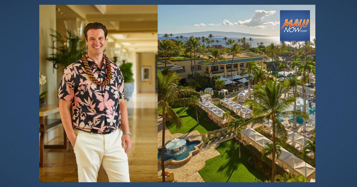 Four Seasons Resort Maui at Wailea Welcomes Back Ben Shank as New GM