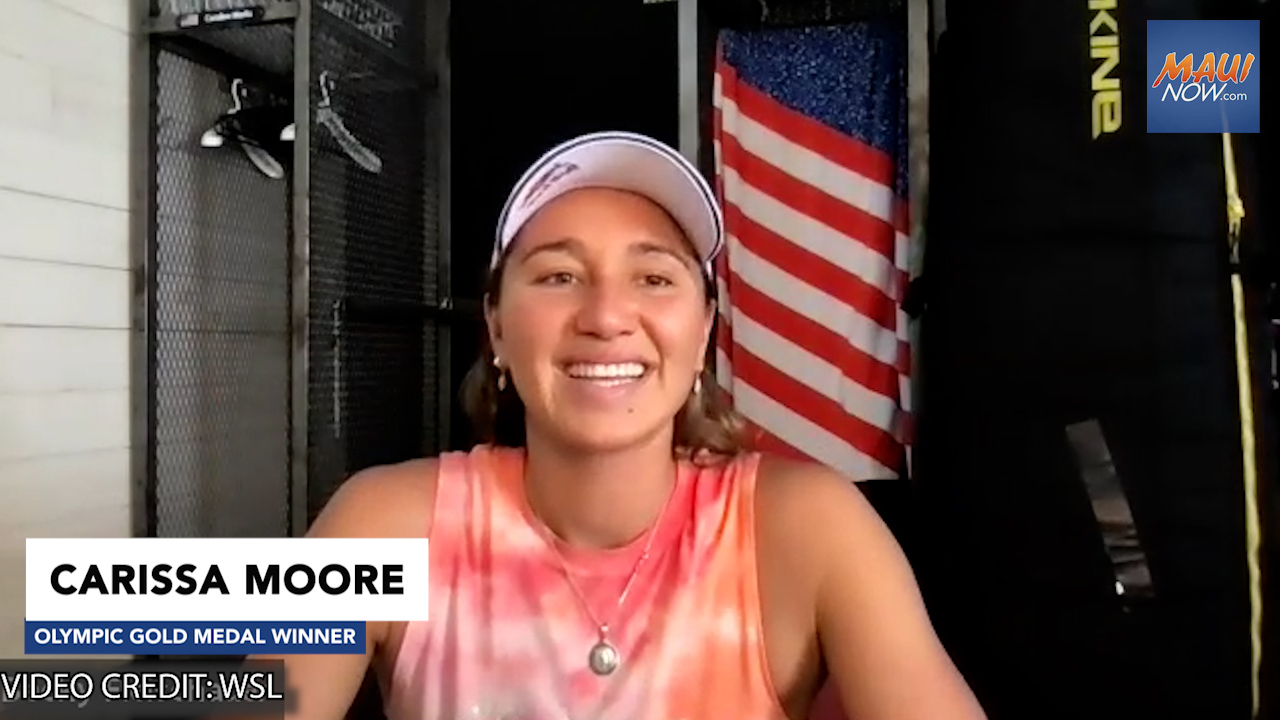 Carissa Moore Earns Historic First Olympic Gold Medal in Women's Surfing