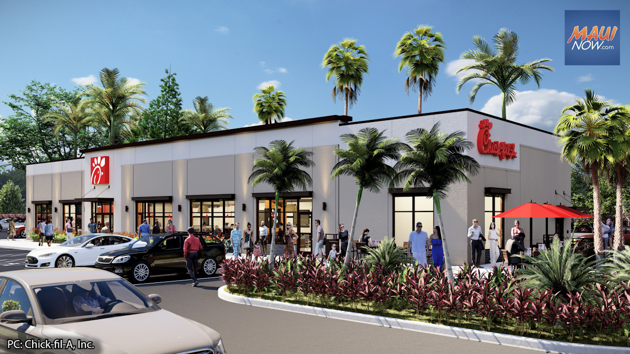Chick-fil-A Maui Groundbreaking Welcomes Way for its First Restaurant in Hawai'i