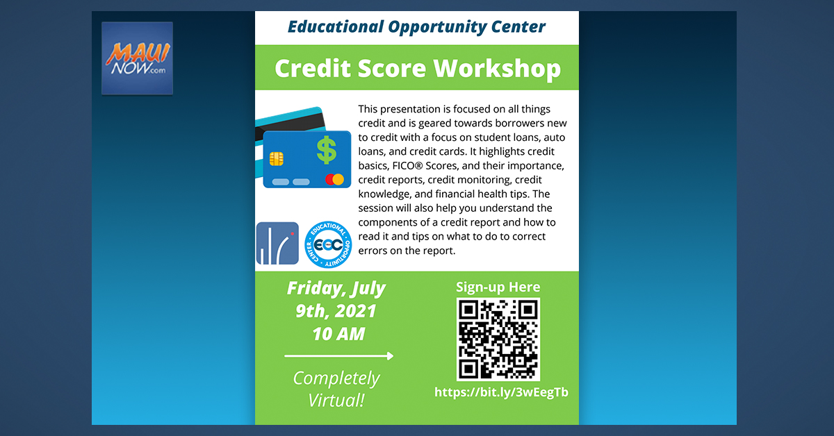 Maui Educational Opportunity Center Offers Free Financial Literacy Workshops