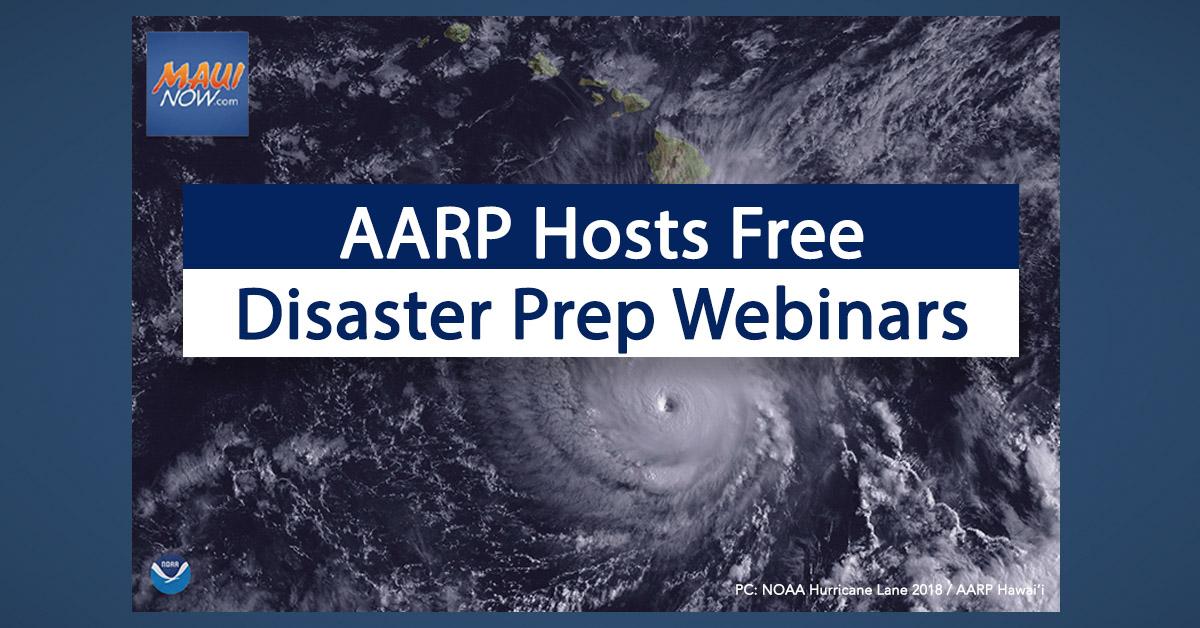AARP Hawaiʻi Webinars Will Help You Prepare for Any Disaster