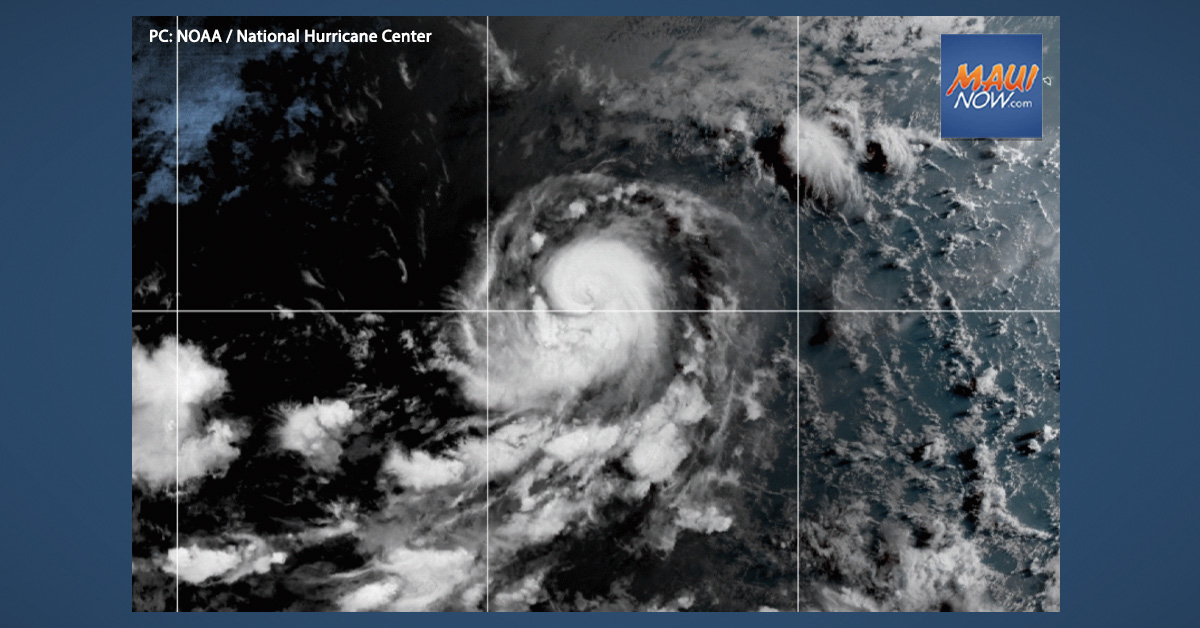 Update: Felicia Becomes Cat 3 Hurricane in Eastern Pacific