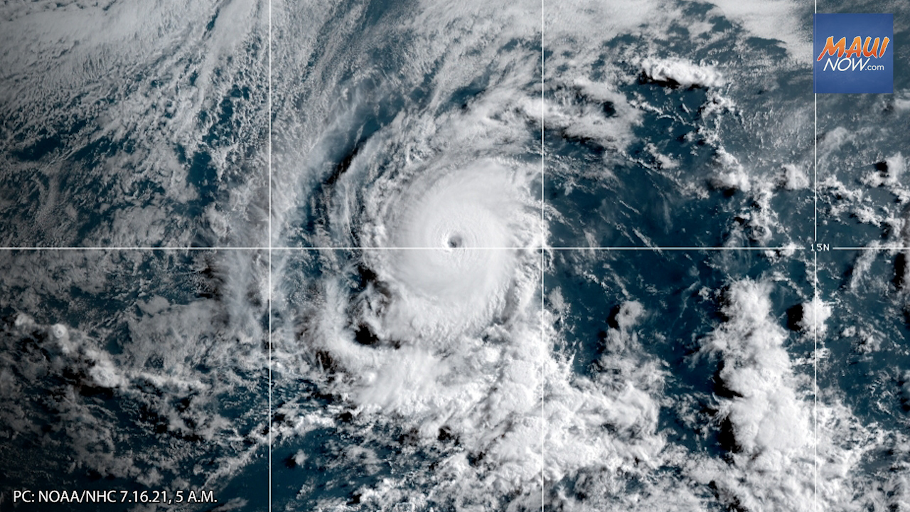 Update: Felicia Becomes Cat 4 Hurricane, Slow Weakening Expected Over Weekend
