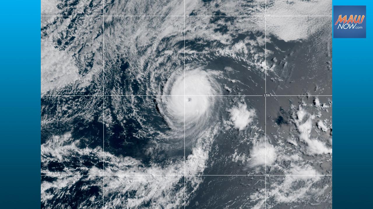 "Hurricane Update: ""Tiny But Ferocious"" Felicia Continues on Westward Trek"