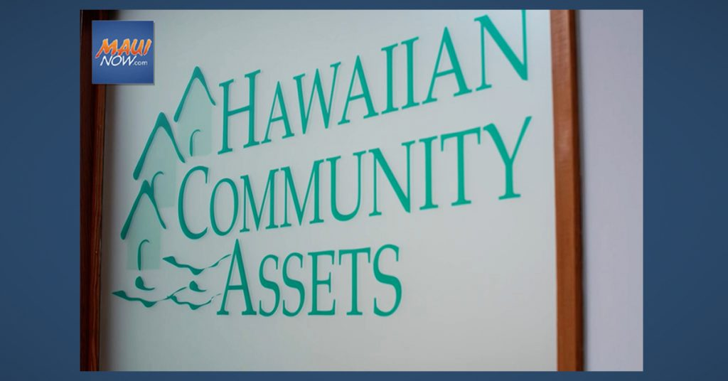 HCA Plan for Maui Calls for 5,000 Affordable Homes in Five Years