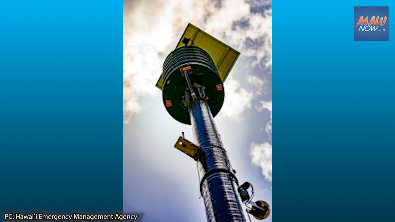 Monthly Siren and Emergency Alert System Test Set for Aug. 2 at 11:45 a.m.