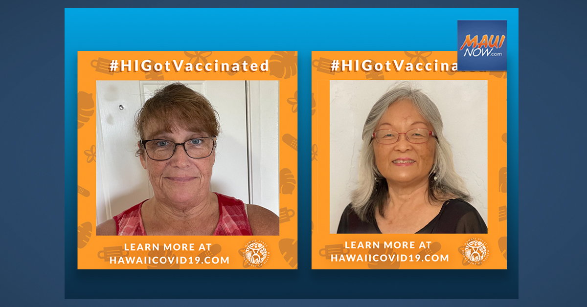 Two Maui Women Among 15 Additional #HIGotVaccinated Grand Prize Winners