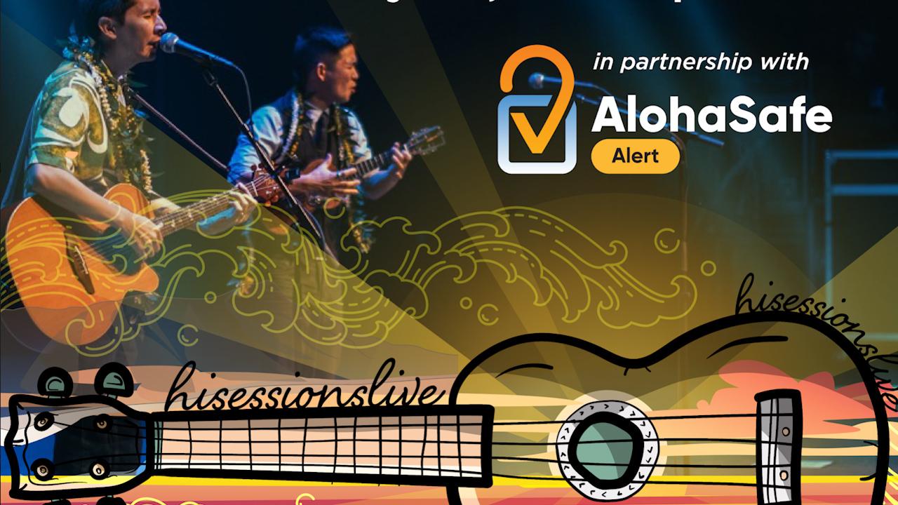 AlohaSafe Alert Partners with HiSessions for Concert with Jake Shimabukuro & Jon Yamasato