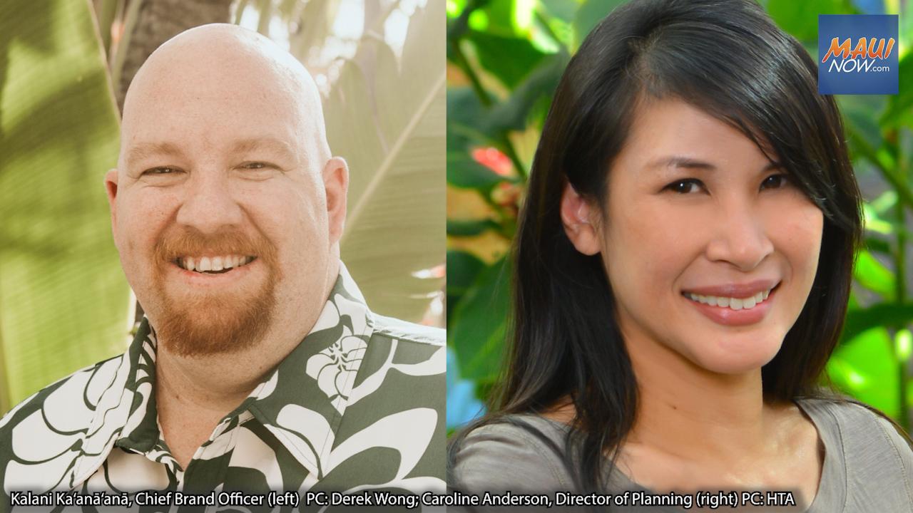 Hawaiʻi Tourism Authority Promotes Two Executives To Support Mālama Kuʻu Home