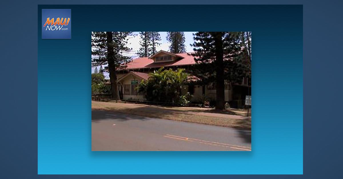 Lānaʻi Gym Building Improvements Underway