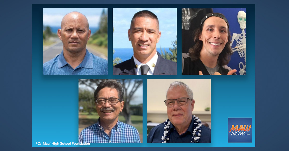 Maui High School Foundation Announces 2021 Hall of Honor Awardees
