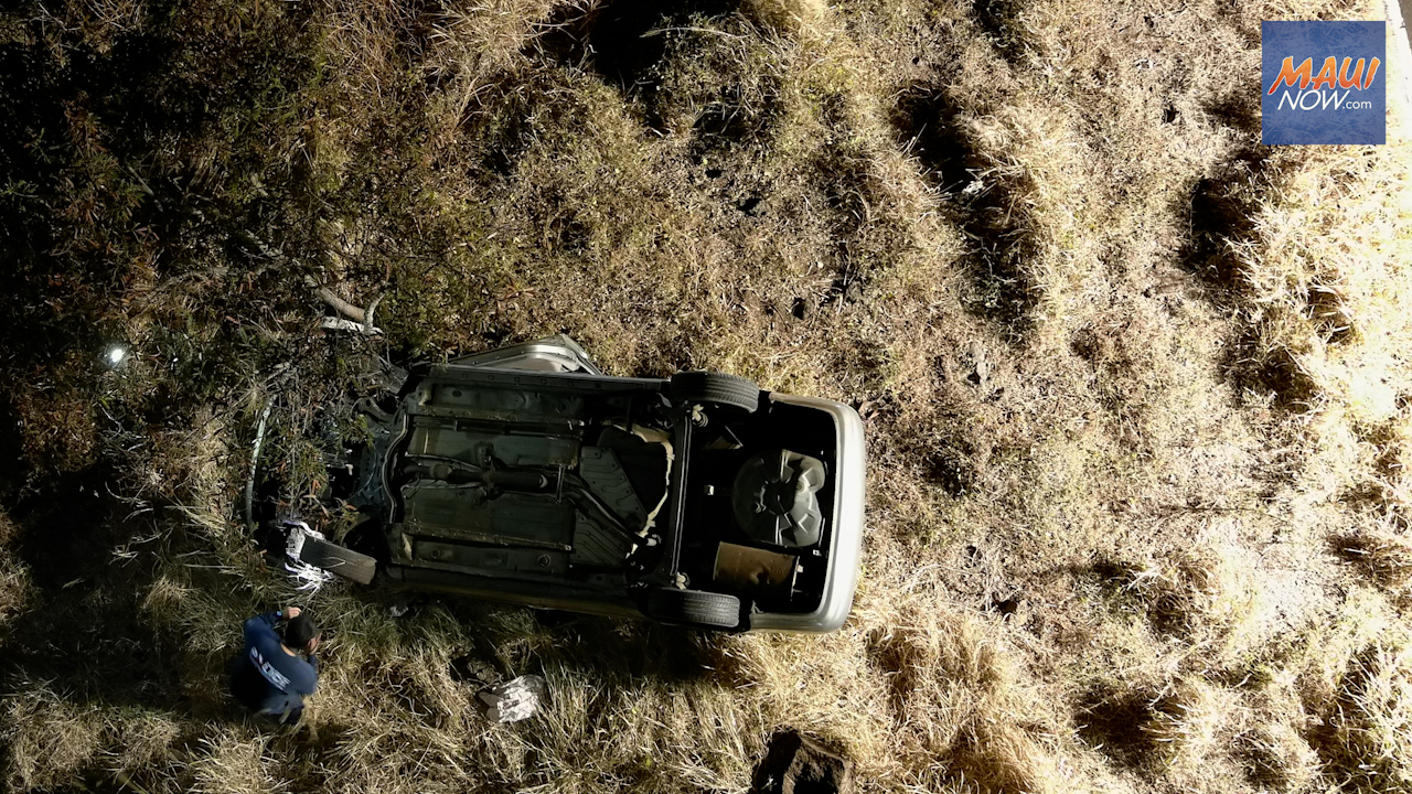 Driver Dies in Kahikinui Crash, Alcohol and Speed Suspected as Factors