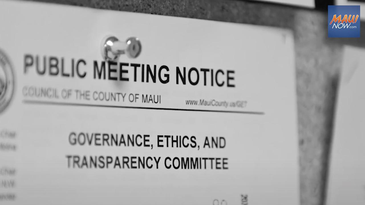 "Council Launches ""Maui County Kākou"" Civic Engagement Video Series"