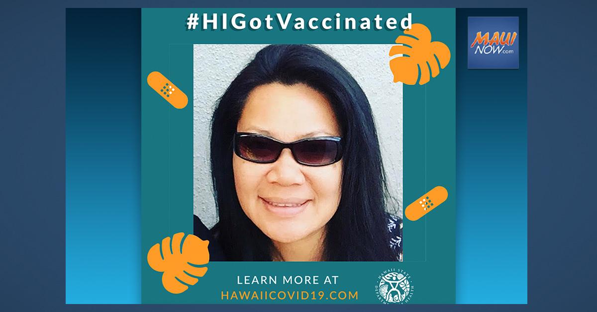 Wailuku Woman Among Latest #HiGotVaccinated Winners