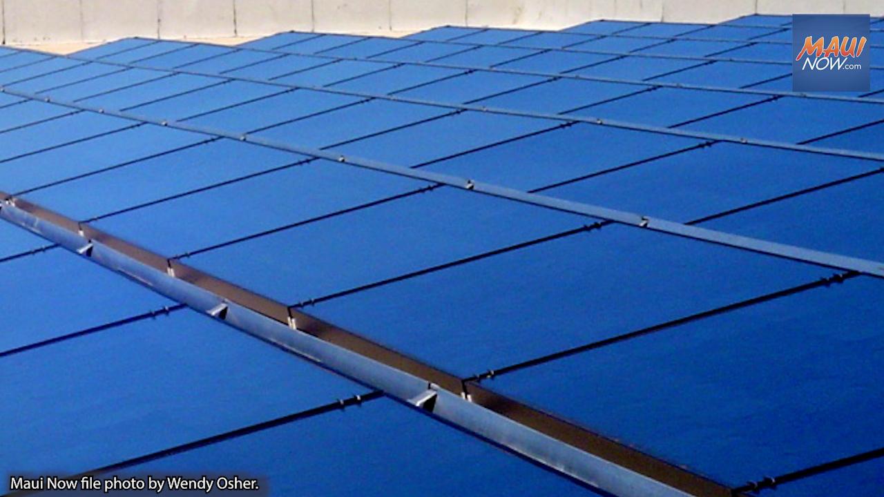 Hawaiian Electric Collecting Feedback on Shared Solar Program for Moloka'i