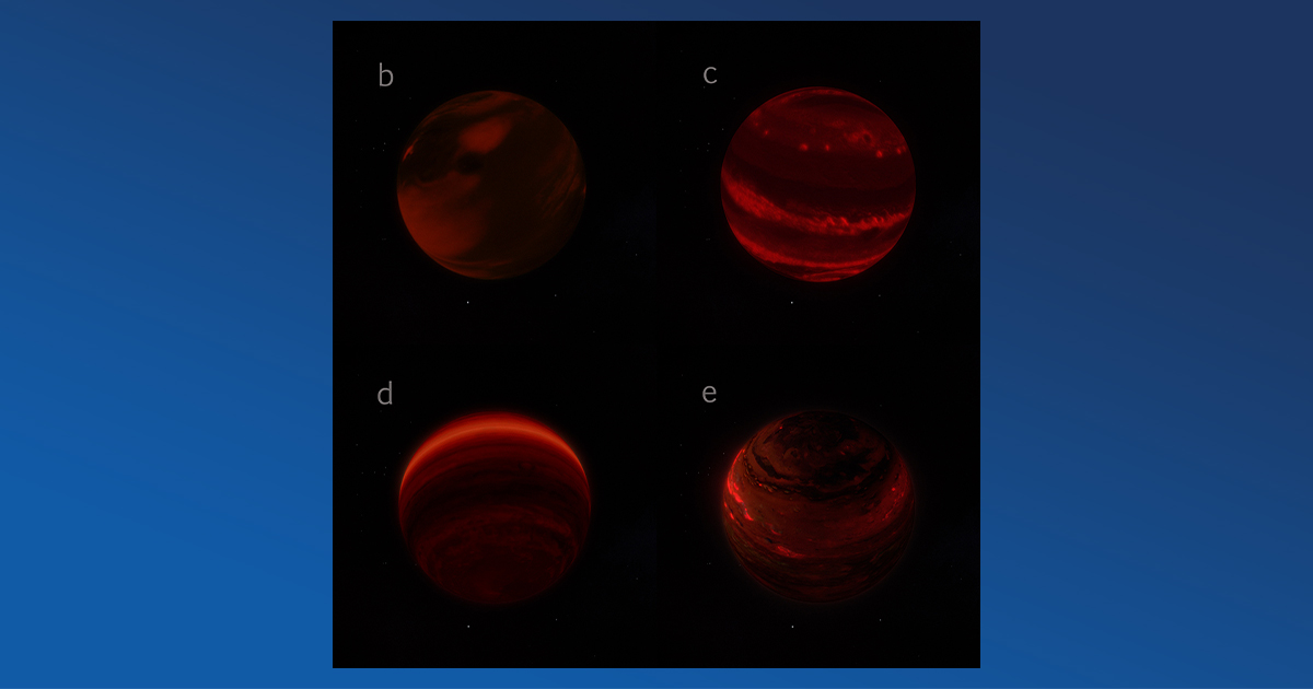 Rotation Measurement of HR 8799 Planets Give New Spin on Planet Formation Mystery