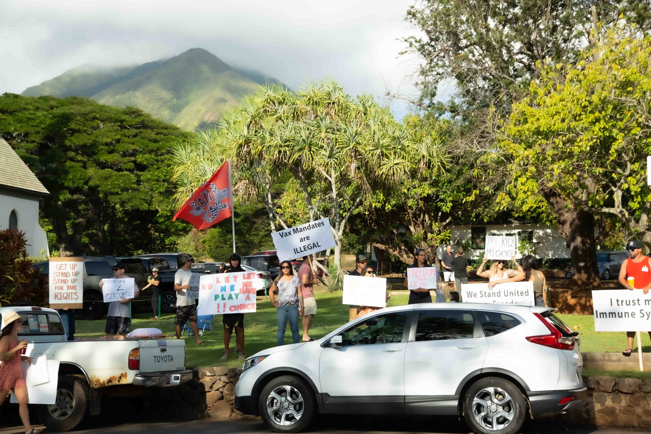 Latest Rally Continues to Advocate for Freedom Amid Masks and Vaccine Mandates