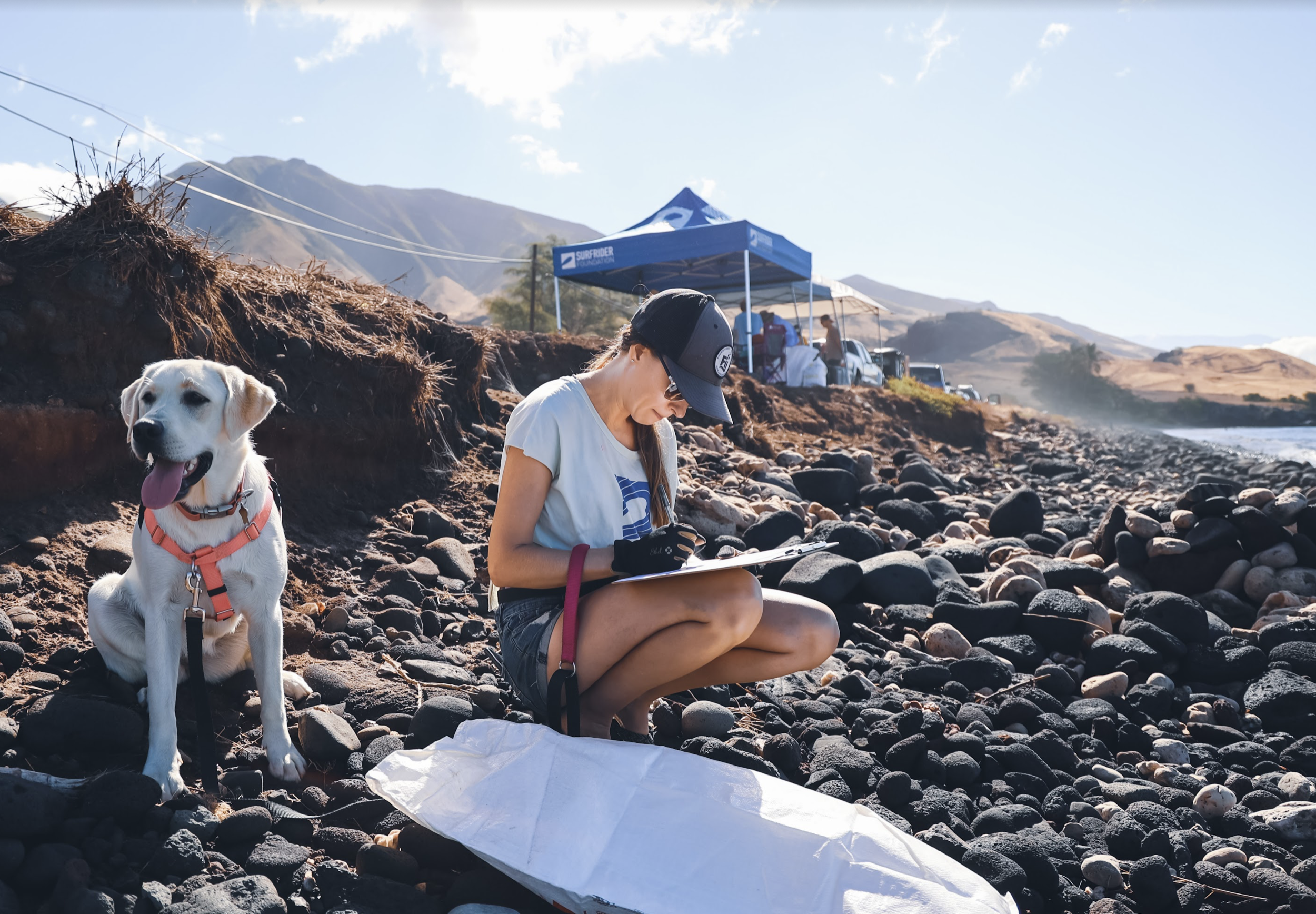 Surfrider Cleans 1,200 Pounds of Trash from West Maui Beach