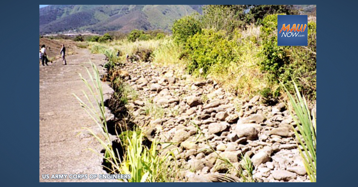 Proposed Repairs to ʻĪao Flood Control Project Topic of Meetings Aug. 21, 26