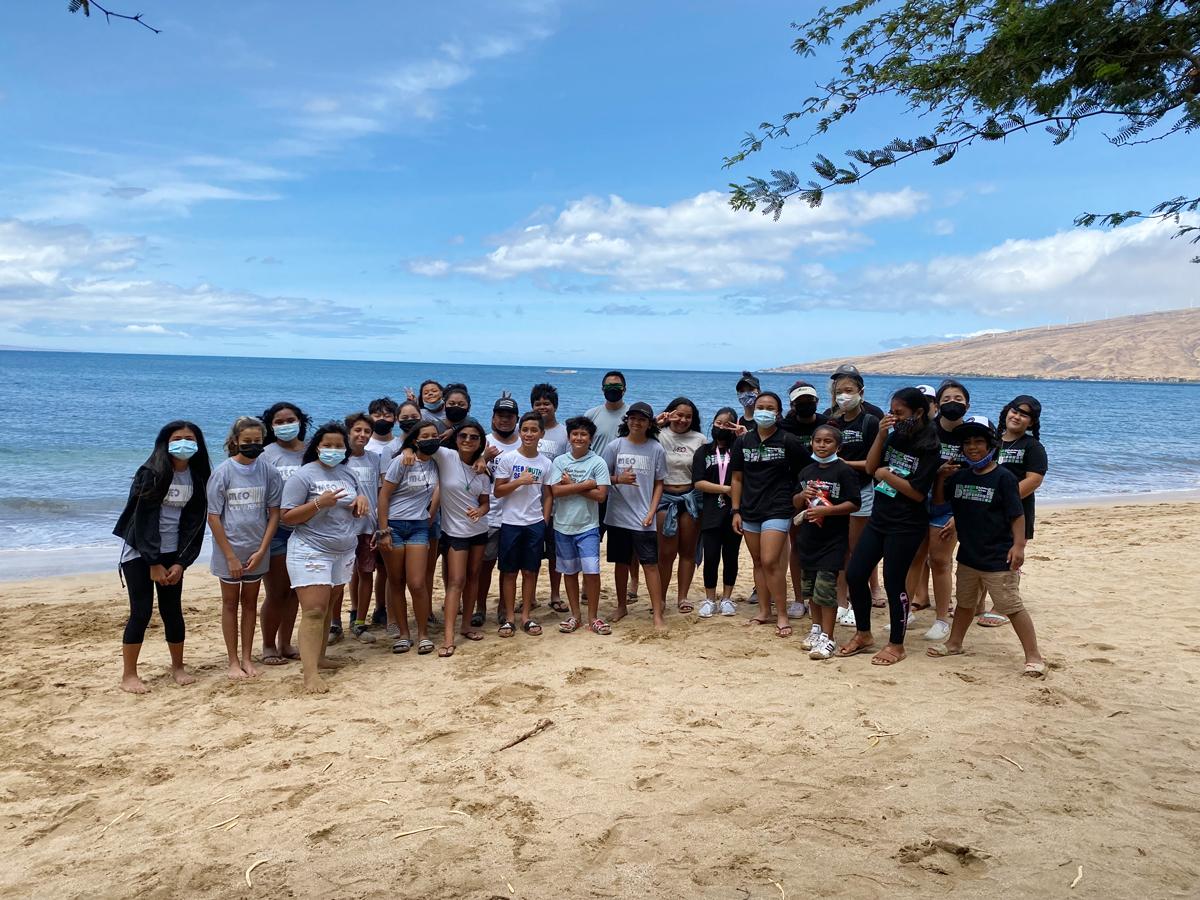 Volunteers From MEO, BBBS, Monkeypod Restaurant Clean Sugar Beach