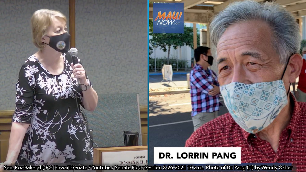 Senator Calls for Termination of Maui Health Officer; Dr. Pang Responds with Letter Defending his Approach
